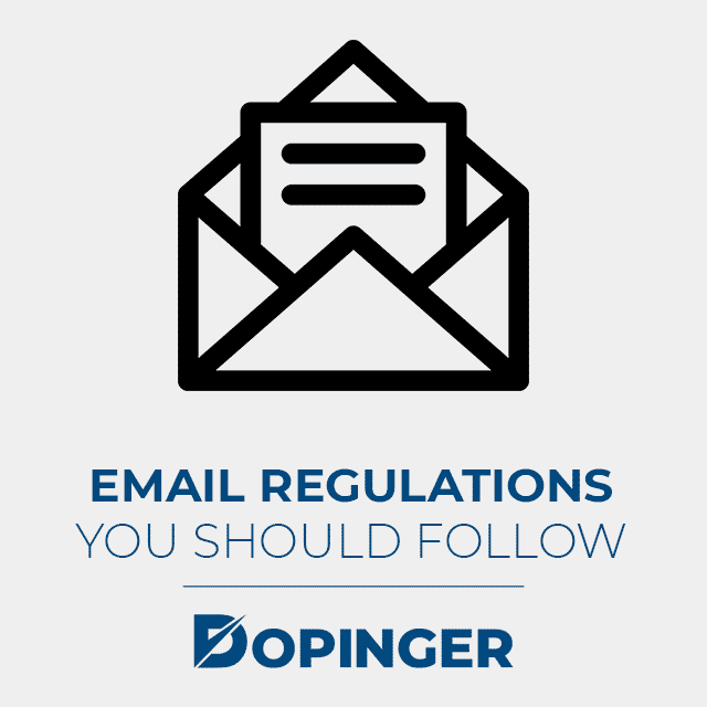 email regulations