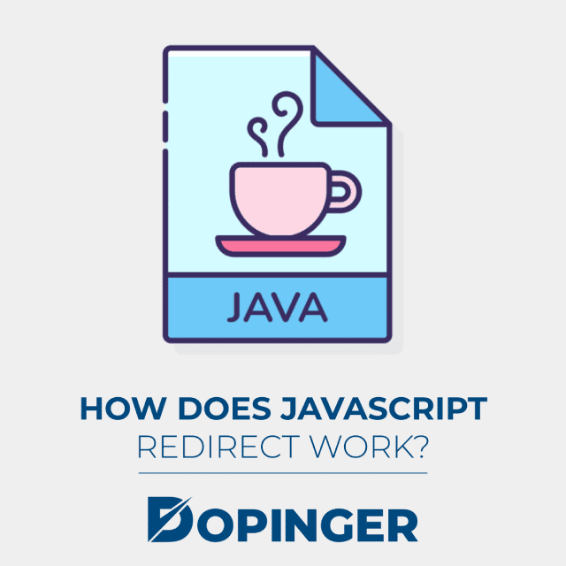 how does javascript redirect work