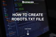 How to Create Robots.txt File