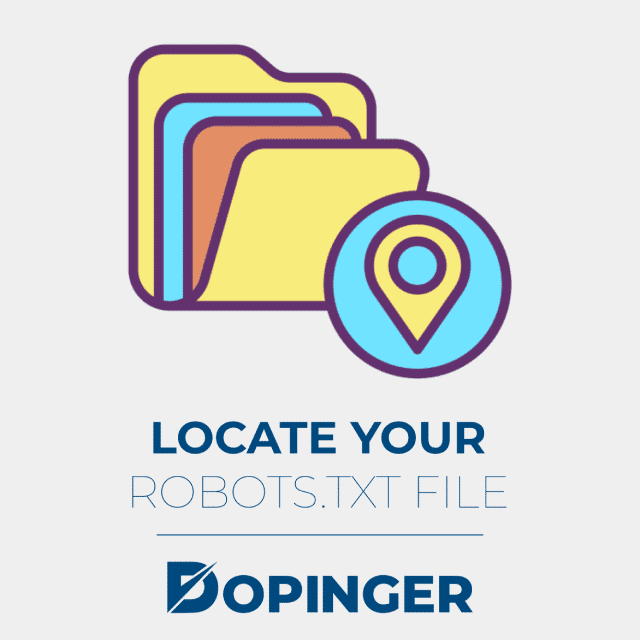 locate your robotstxt file