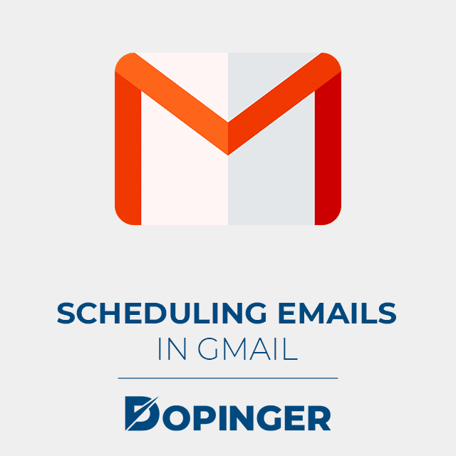 scheduling emails in gmail