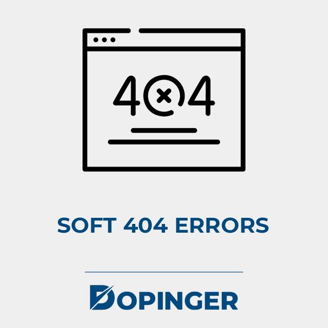 soft 404 errors