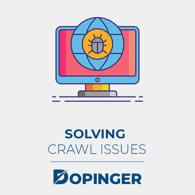 solving crawl issues