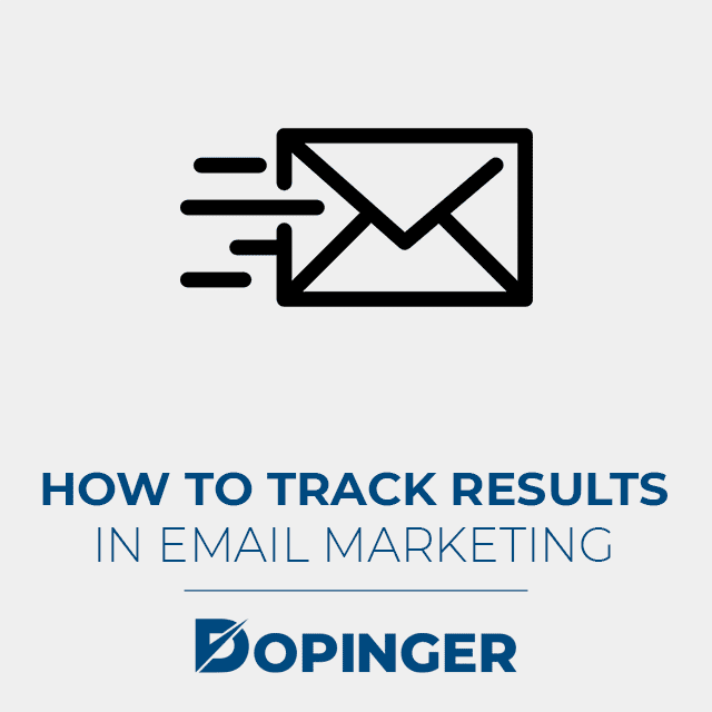 track results in email marketing