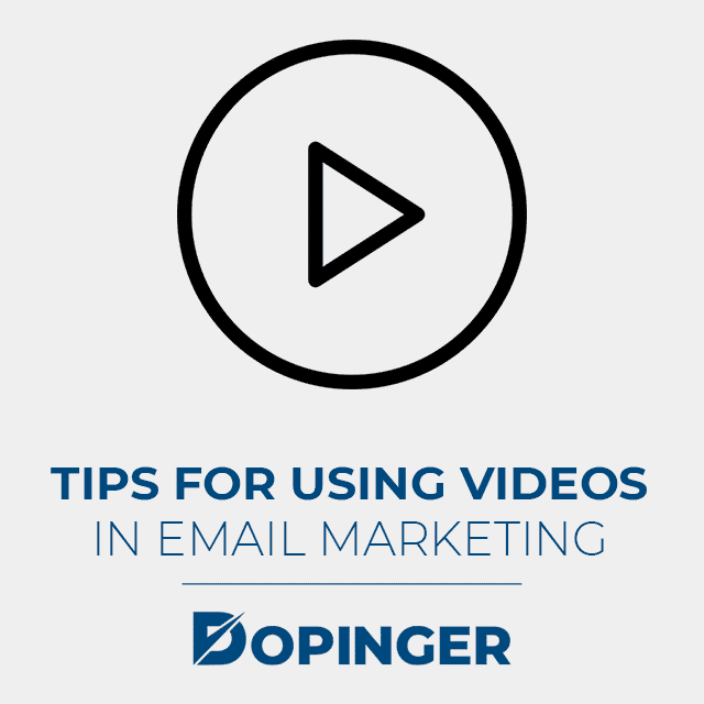 using videos in email marketing