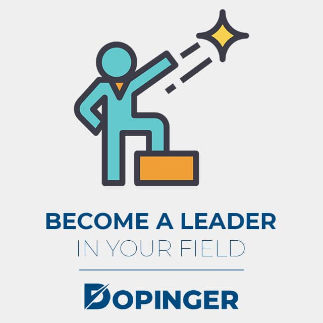 become a leader in your field with social media marketing