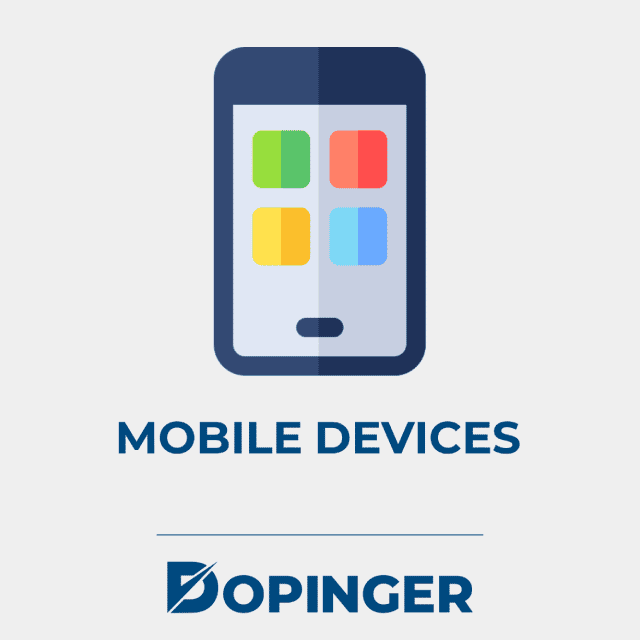 on mobile devices