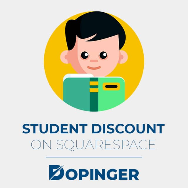 student discount on squarespace