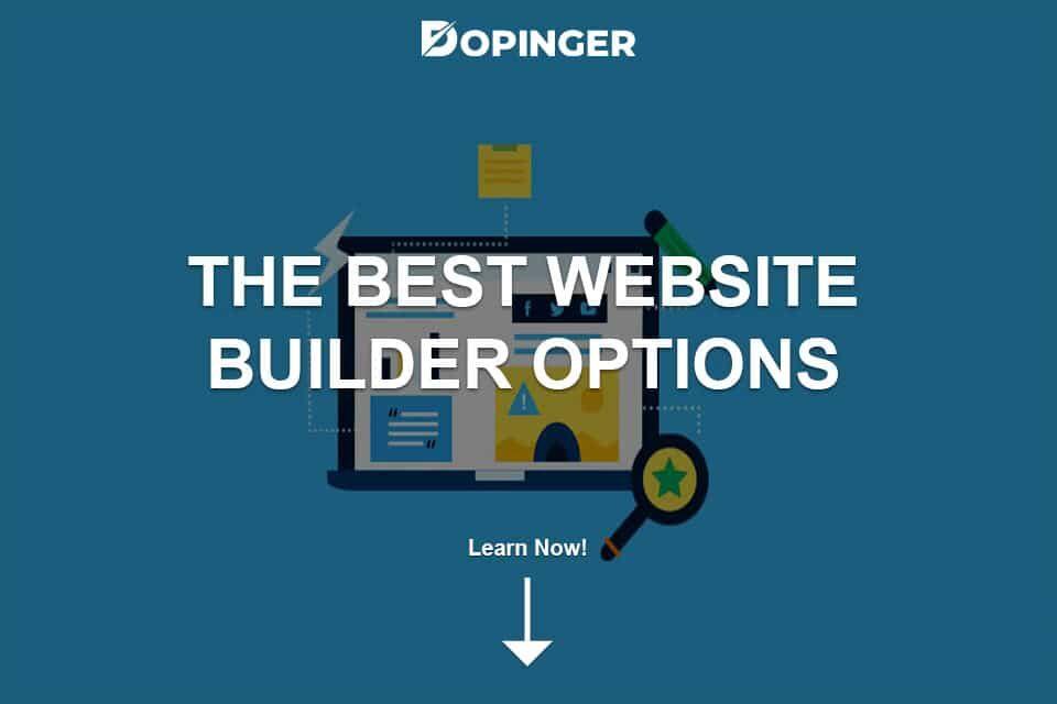 The Best Website Builder Options