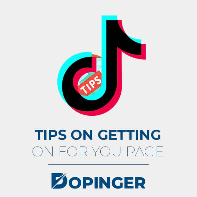 tips on getting on for you page