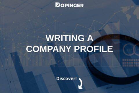 Writing a Company Profile