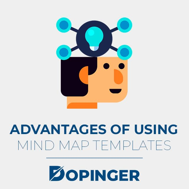 advantages of using mind map templates
