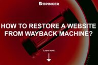 How to Restore a Website from Wayback Machine