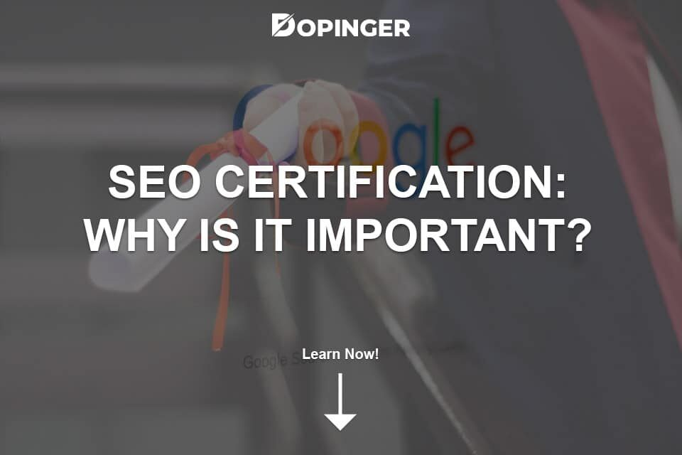 SEO Certification: Why Is It Important?