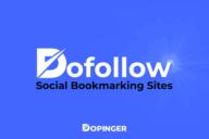 Best Dofollow Social Bookmarking Sites