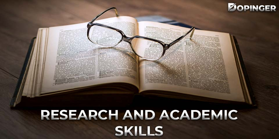 research and academic skills