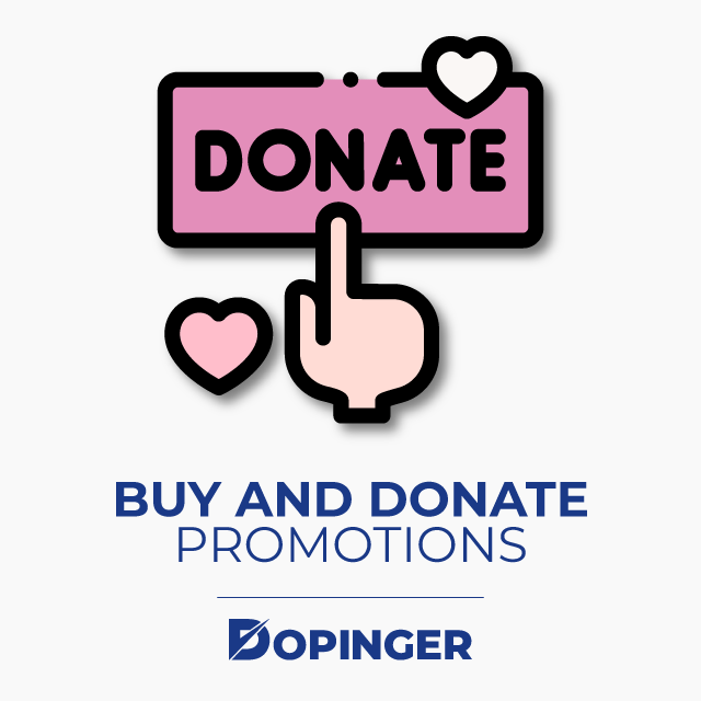 Buy and Donate Promotions