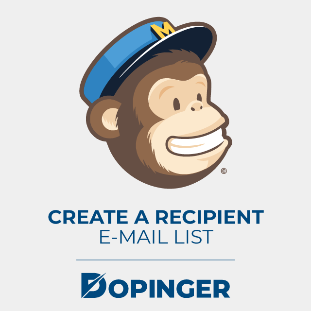 create a recipient email list