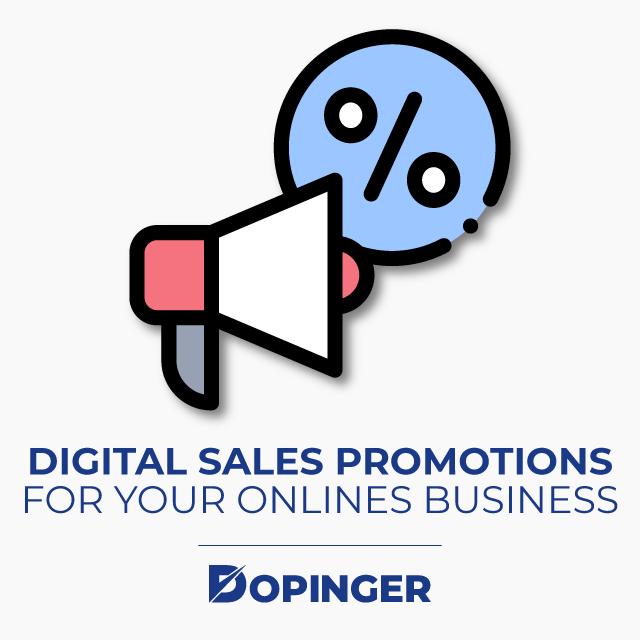 Digital Sales Promotions