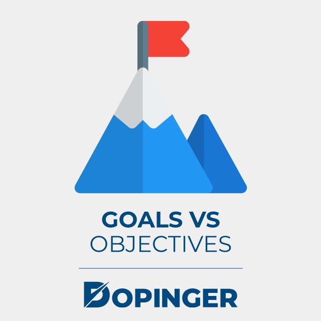 goal vs objectives