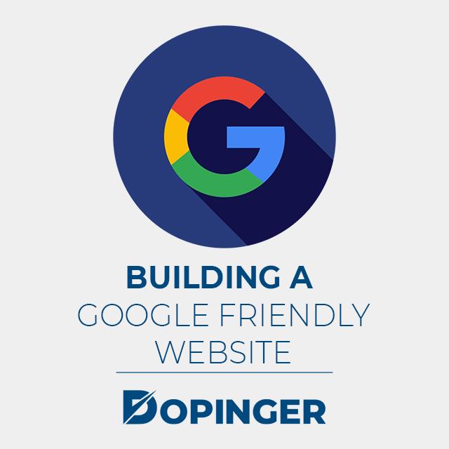 how to build a google friendly website