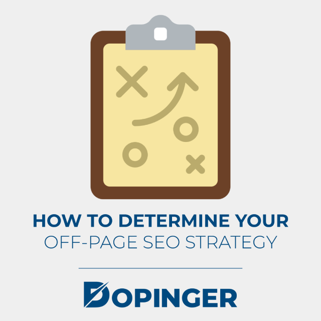 how to determine your off page seo strategy