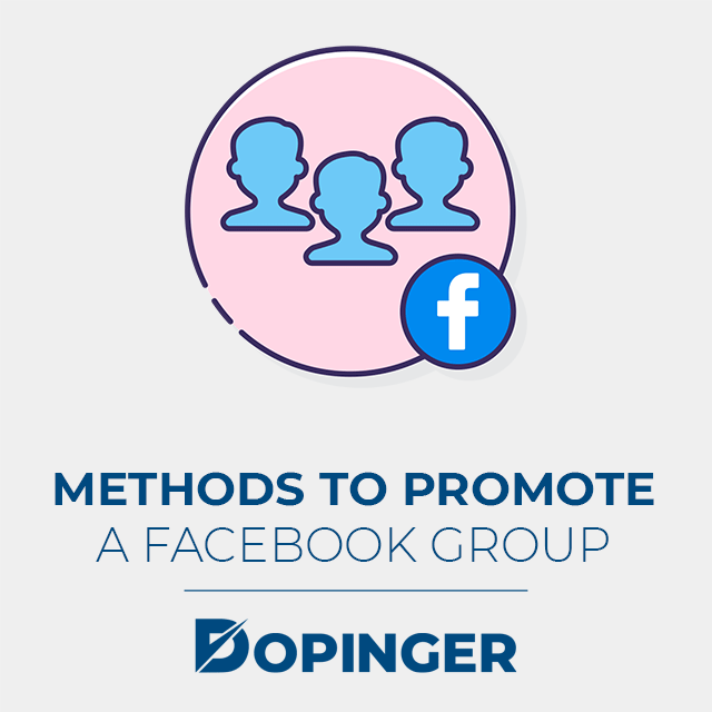 methods to promote a facebook group