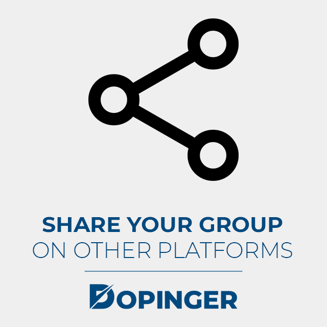 share your group on other platforms