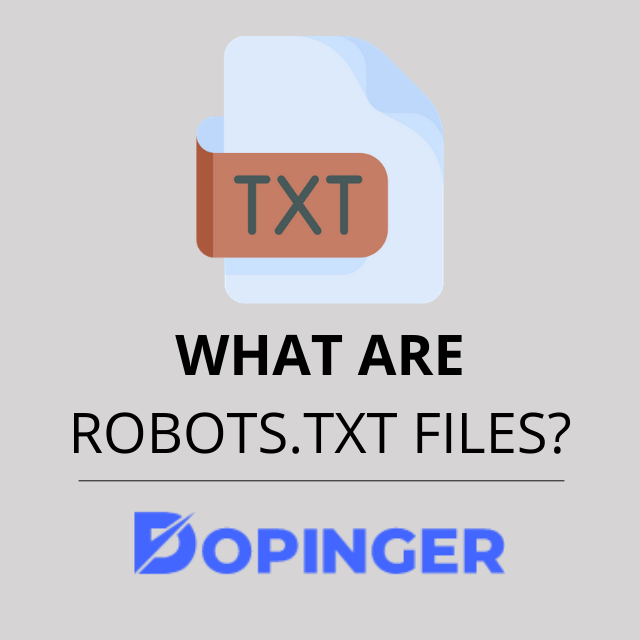 what are the benefits of robots.txt files