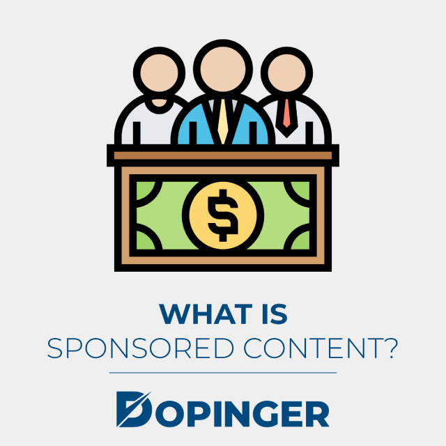 what is sponsored content
