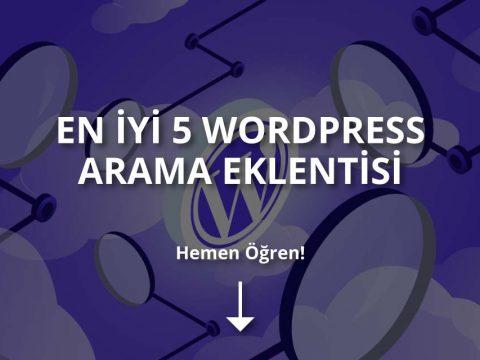 En İyi WordPress Arama Eklentileri