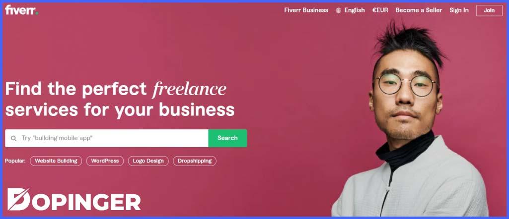 fiverr freelance sitesi