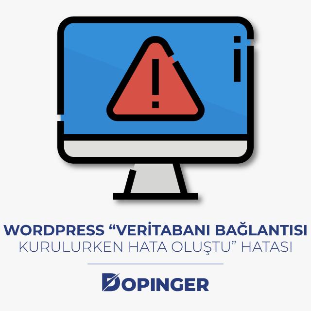 wordpress veri tabanı bağlantısı kurulurken hata oluştu