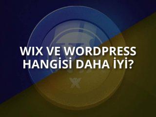 Wix mi? WordPress mi?