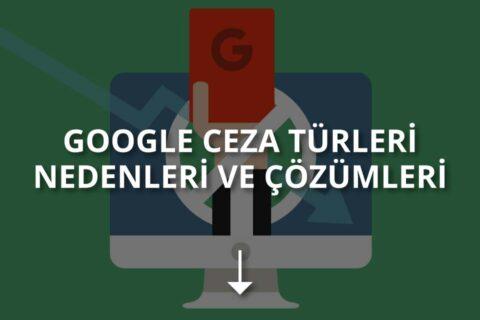 Google Cezaları