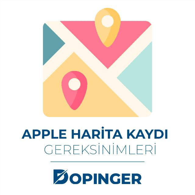 apple harita kaydı gereksinimleri