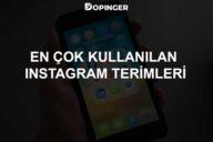 En Çok Kullanılan Instagram Terimleri