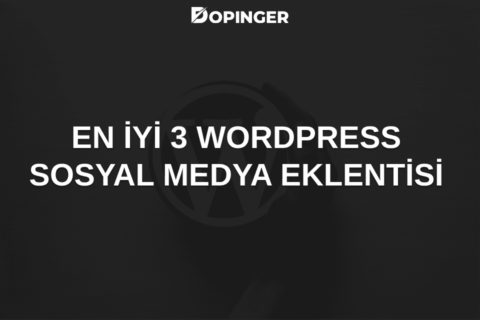 En İyi 3 WordPress Sosyal Medya Eklentisi