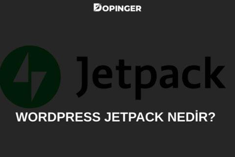 WordPress Jetpack Ayarları Nasıl Yapılır?