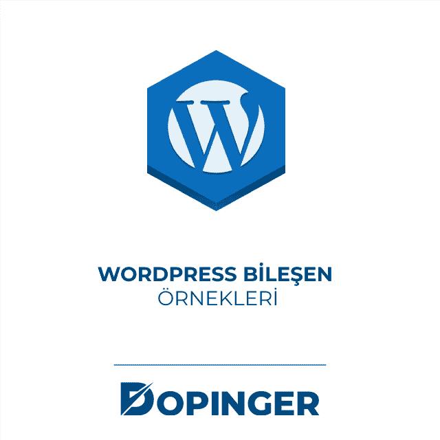 wordpress bilesen örnekleri
