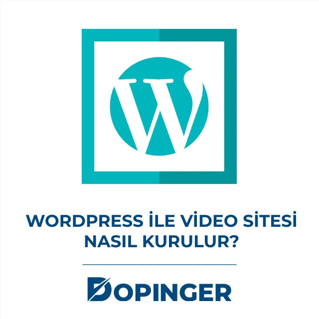 wordpress ile video sitesi kurma