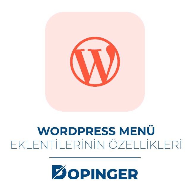 wordpress menü eklenti özellikleri