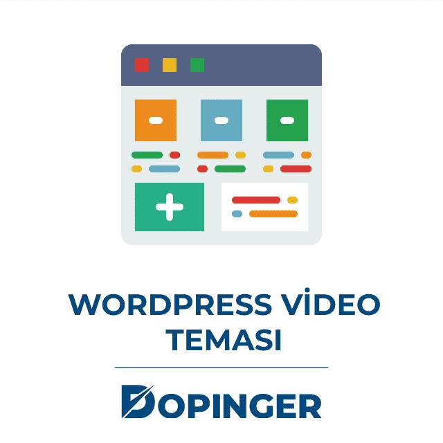 wordpress video teması