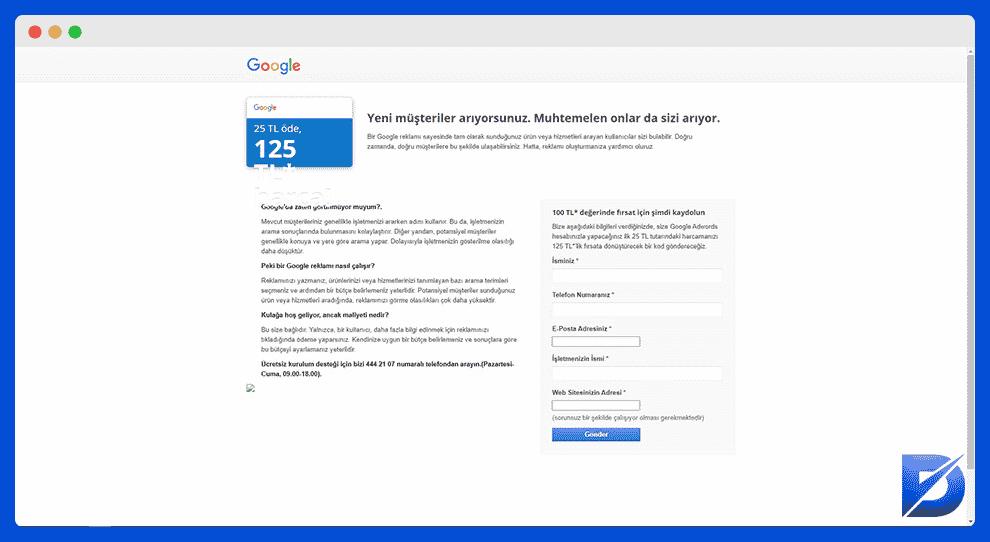 google ads promosyon linki