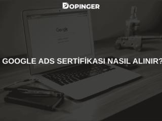 Google Ads (Adwords) Sertifikası Nasıl Alınır? [2021]