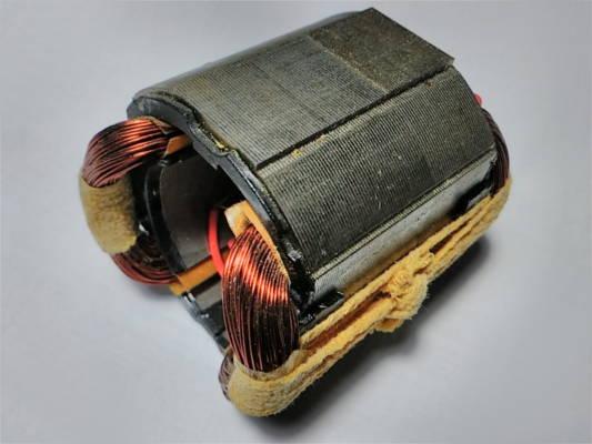 Оригинальный статор d33*58-L44 электрорубанка Фиолент Р2-82
