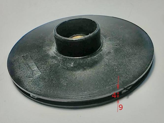 Колесо крыльчатка 130*10*40 h4-9 центробежного насоса