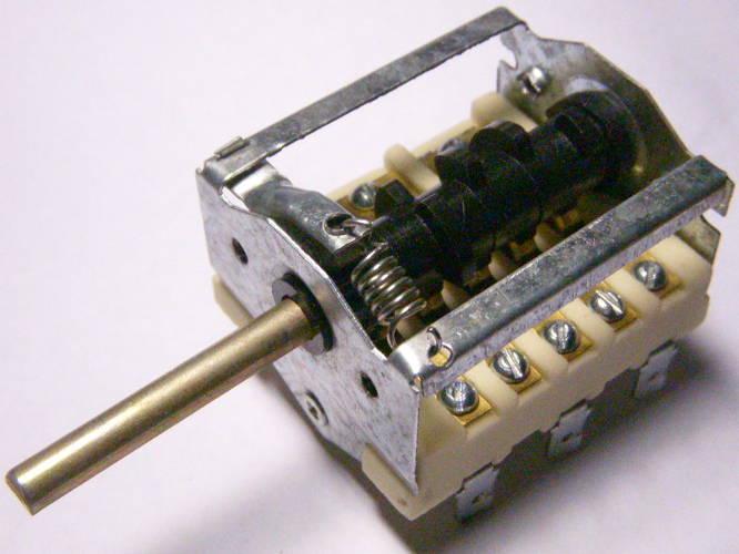 Переключатель электроплиты Электра 1001,1002, 1006