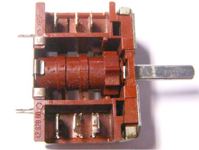 Однопозиционный переключатель для электроплиты Сичь