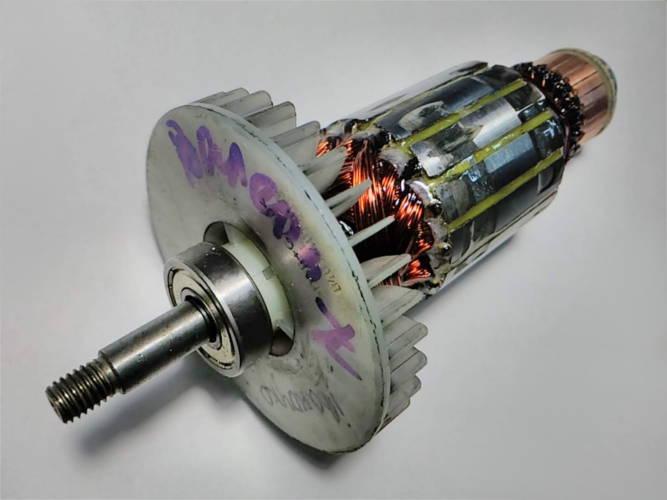 Ремонт якоря L182 d47*8*30 цепной электропилы Einhell